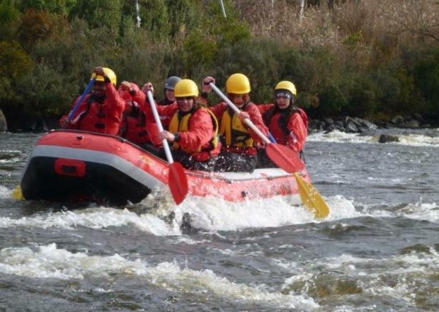 Migrant Education Week - Rafting